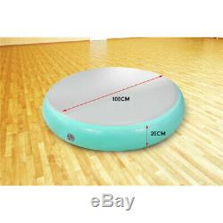 10020CM Inflatable Air Track Spot Exercise Gym Gymnastics Tumbling Round