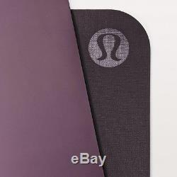 5mm Yoga Mat His or Hers Reversible Black Currant/Boysenberry