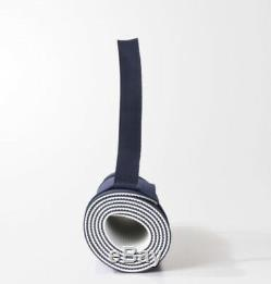 Adidas by STELLA MCCARTNEY Yoga Mat with Carry Handle Reversible Blue/White BP6414