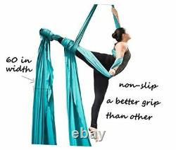 Aerial Silks for Aerial Acrobatic Dance 60in Wide (10 Yards) with The