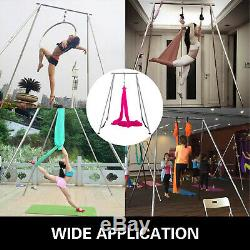 Aerial Stand Yoga Trapeze Frame Yoga Swing Bar Hammock Stand withAerial Silk Home