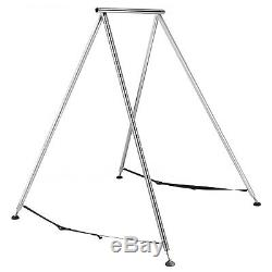 Aerial Trapeze Stand Yoga Swing Bar Hammock Bracket with39ft Aerial Silk Sets Home
