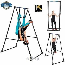 Aerial Yoga Stand Swing Frame Portable Foldable Indoor Outdoor Adjust Durable