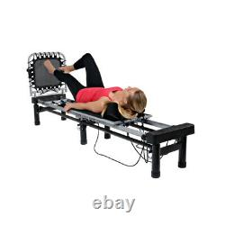 AeroPilates Reformer 266 with Cardio Rebounder and 10 Stand