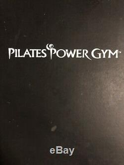 Black & Silver Pilates Power Gym Pro Exercise Equipment Home Fitness Workouts