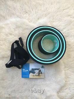 Chirp Wheel 3-Pack 12, 10, 6 Deep Tissue Back Stretch Rollers with Extras