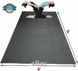 Extra Large Zen Yoga Mat Thick Comfortable Fitness Exercise Dance Cardio Durable