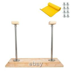 Fixed Handstand Canes 25 Inversion Bench Balance Trainer Feet Up 31x16 Board