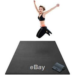 Gorilla Mats Extra Thick Large Exercise Workout Durable Non-Slip (84L x 48W)