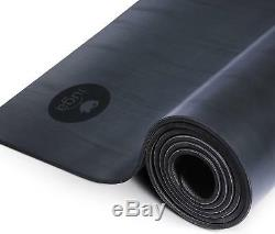 IUGA Pro Yoga Mat, Non-Slip Odorless Lightweight, Rubber Gray Extra Large 72X26