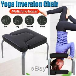 Inverted Yoga Inversion Bench Therapy Exercise Fitness Stool Headstand Chair