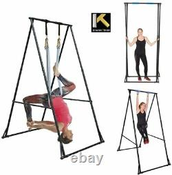 KT Aerial Yoga Stand Frame Indoor Outdoor KT1.1518. Max Height 92.5''. Foldable