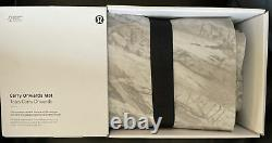 Lululemon O/S Carry Onwards Mat Gray Ice FRCY/ICE Packable Microfiber 26 X 71