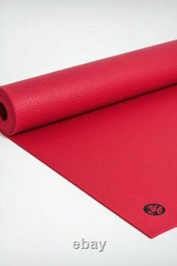 Manduka Pro Yoga and Pilates 6mm Thick Mat Red Almost Perfect