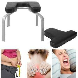 Multi Function Yoga Aids Inverted Chair Handstand Bench +Soft Mat for Home Gym