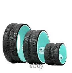 NEW Chirp Wheel 3 Pack 12 10 6 Back Stretch Yoga Roller Set