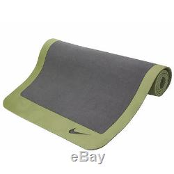 NEW Nike AC3503-036 Ultimate Yoga Mat Thick 5mm Pilates Fitness Pad Olive