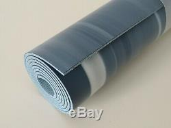 NWT LULULEMON SWHT/CLBE Blue Marbled The Reversible Yoga Mat 5mm, 71x26