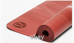 NWT Lululemon THE REVERSIBLE YOGA MAT 3MM Soft Cranberry/Feather Pink/Watermelon