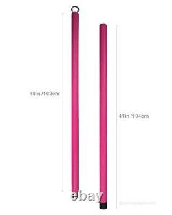 ORKIS Flying Silicone Pole 2m detachable Aerial Dance Home fitness pink
