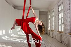 Orbsoul Complete Aerial Silks Deluxe Equipment Set Everything You Need Premium