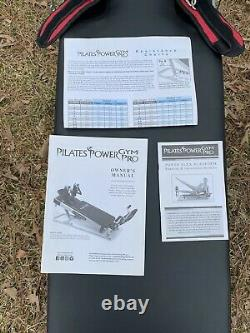 Pilates Power Gym Exercise Equipment/ With Attachments