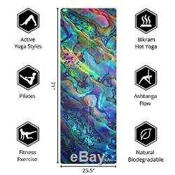 Plyopic All-in-One Yoga Mat Luxury Sweat-Grip Mat/Towel Combo Eco-Friendly