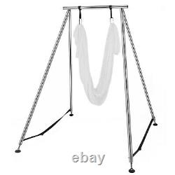 Portable Aerial Yoga Frame Yoga Aerial Trapeze Stand Steel Pipe Yoga Swing Stand