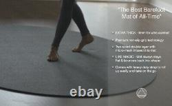Pro Large Round Yoga Mat 6 x 8mm for Exercise Premium Extra Thick, Ultra Comfor