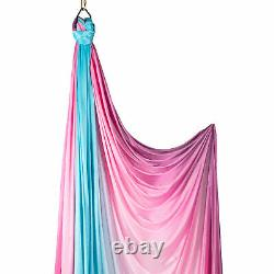 Prodigy Multicoloured Aerial Silk 12m Pink & Blue Ombre