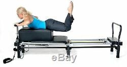 Pull Up Bar Pilates Rod Workout Accessory Sturdy Steel Frame Padded Grip Durable