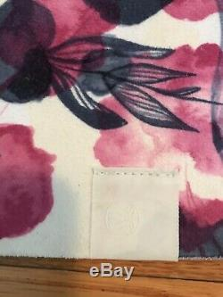 RARE Lululemon The Hot Towel Mat Inky Floral Ghost Inkwell Bumble Berry 26 x71