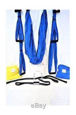 S-Body Fitness PREMIUM QUALITY yoga inversion swing trapeze with straps and h