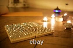 Sadhu Board with Nails for Yoga Practice and Meditation /Wood Pins desk bed yogi