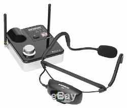 Samson AIRLINE 99M Wireless Rechargeable Headset For Yoga/Spin/Pilates D-Band