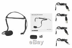 Samson QEX Fitness Headset Microphone Mic++Case+Boombox For Yoga/Spin/Pilates