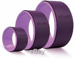 Sports Yoga Wheel Yoga Roller Rad for Back Pain and Improving Your Yoga Poses, P
