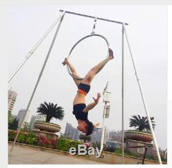Stainless steel aerial yoga training prop stand swing support stand kit set