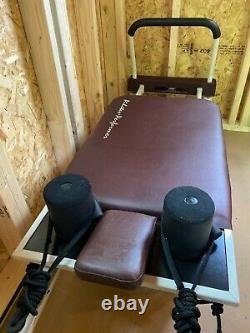 Stamina Pilates Performer Reformer Exercise Machine 4-Cord W Stand (55-4300)