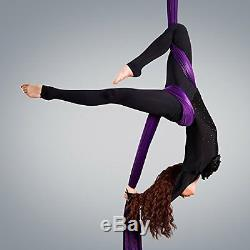 Straps Aerial Silks Equipment for Acrobatic Flying Dance, Includes all Hardware