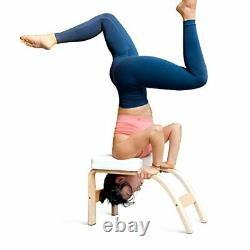 THUNDESK Yoga Inversion Bench Headstand Prop Upside Down Chair for Feet Up