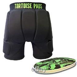 Tortoise Pads T2 High Impact Protection Padded Shorts with Dual Density EVA Foam