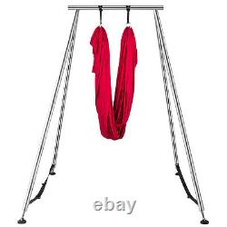 VEVOR Portable Aerial Yoga Frame Stand Steel Pipe Yoga Swing Stand Indoor