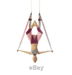 YOGABODY Yoga Trapeze official Yoga Swing/Sling/Inversion Tool, Baby Pink