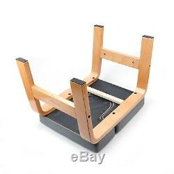 Yoga Chair Headstand Upending Inversion Bench Pilate Gray