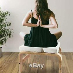 Yoga Chair Headstand Upending Inversion Bench Pilate White
