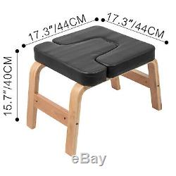 Yoga Inversion Bench Headstand Chair Beech Home Fitness STRONG PACKING POPULAR