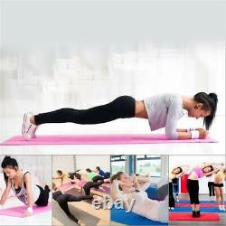 Yoga Mat for Pilates Gym Massage Exercise 3mm Thick Large Comfortable NBR Ball