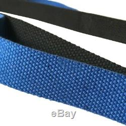 Yoga Strap Stretching Exercise Belts Durable Cotton 10 loops Leg Fitness Restore