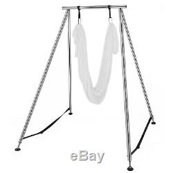 Antenne Trapeze Support Yoga Support Portable Cadre Swing Accueil 20ft Aérienne Hamac